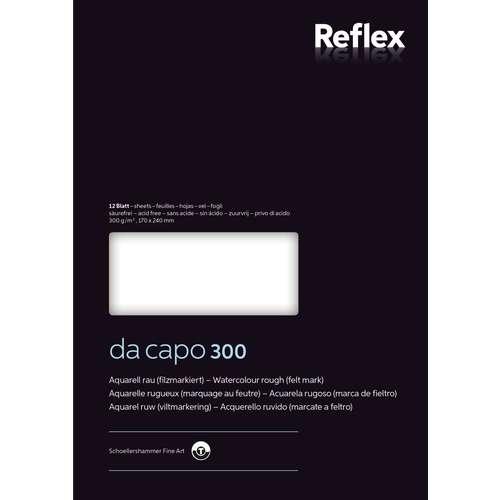 Reflex da capo 300 Studien-Aquarellblock