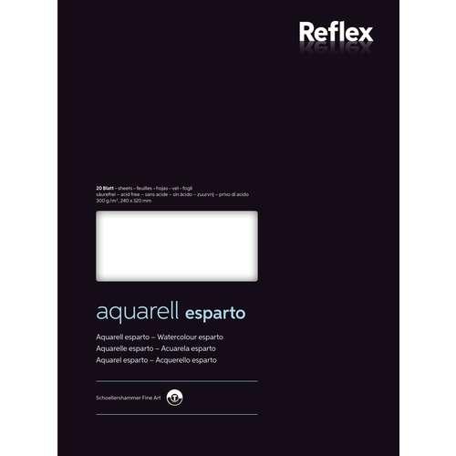 Reflex Künstler-Aquarellblock esparto
