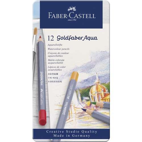 FABER-CASTELL Goldfaber Aqua, Aquarellstift-Sets