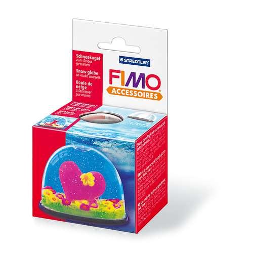 FIMO® Accessoires Schneekugel, oval