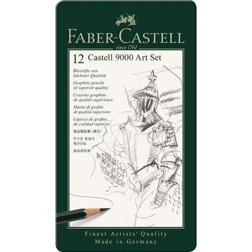 CASTELL® 9000 Bleistift-Set