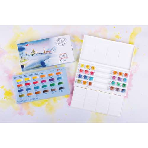 """WHITE NIGHTS™ Extrafeine russische Aquarellfarbe, """"Plein Air"""""""