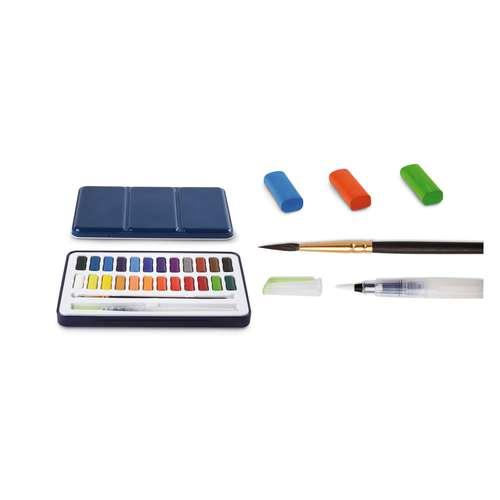 I LOVE ART Aquarell-Set, 24 Farben