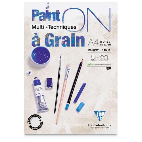 Clairefontaine Multitechnik-Papier PAINT ON