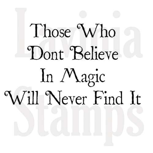 Lavinia Stempel, Believe in Magic