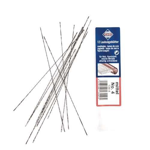 Laubsägeblätter für Holz