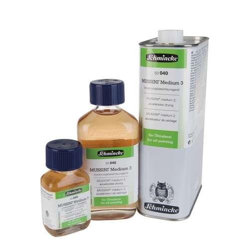 SCHMINCKE MUSSINI® Medium 3 Trocknungsbeschleuniger für Ölmalerei