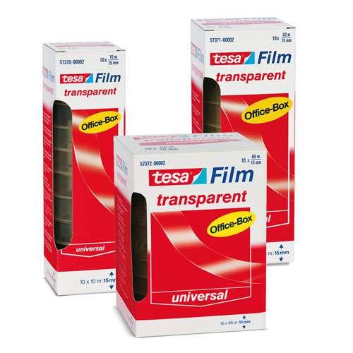 tesafilm® Transparent Office-Box