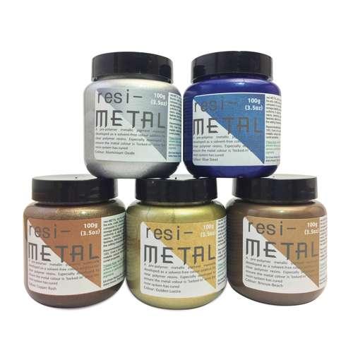 resiMETAL Pigmente für Harze
