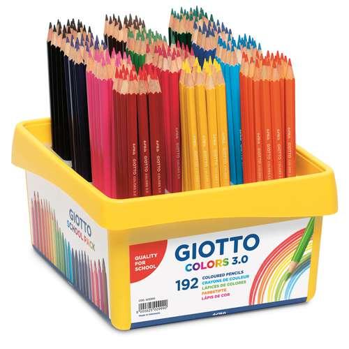 GIOTTO Colors 3.0 Schulpackung mit 192 Farbstiften