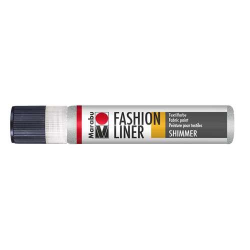 MARABU Fashion Liner Schimmer Textilmalfarbe