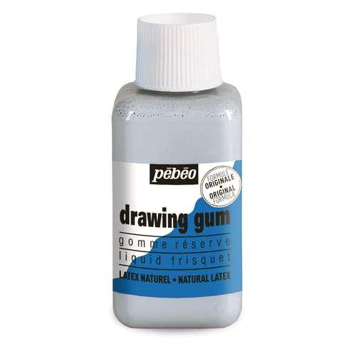 pébéo drawing gum Rubbelkrepp