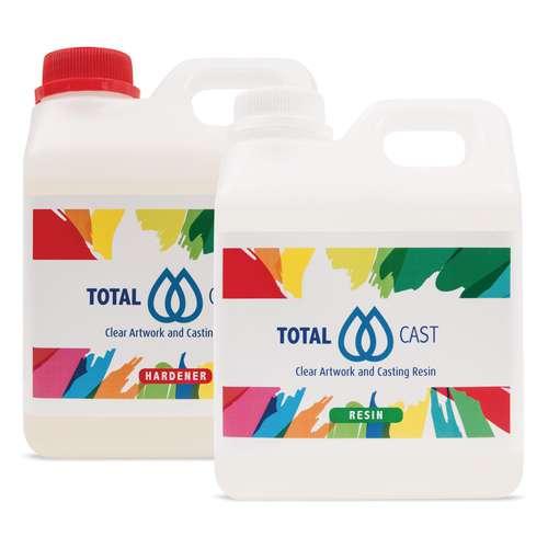 TotalCast, Überzugs- und Gießharz