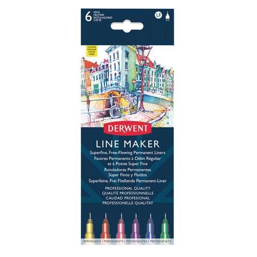 DERWENT Line Maker Tuschestifte Sets