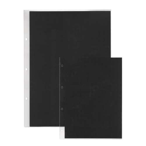 PRAT Präsentationshüllen mit schwarzem Inlay