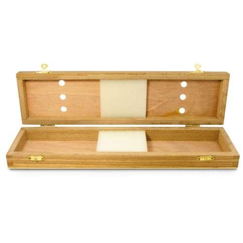 Pinselkasten aus Holz