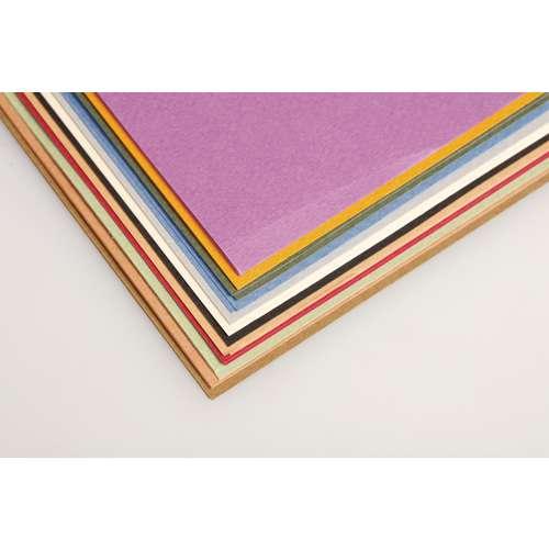 CLAIREFONTAINE TULIPE Bastelpapier, 24er-Sortiment Pastell-Farbtöne