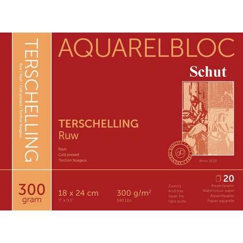 Schut Terschelling Aquarellblock