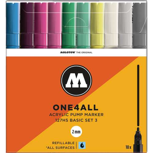 MOLOTOW™ ONE4ALL Basic-Set 127HS