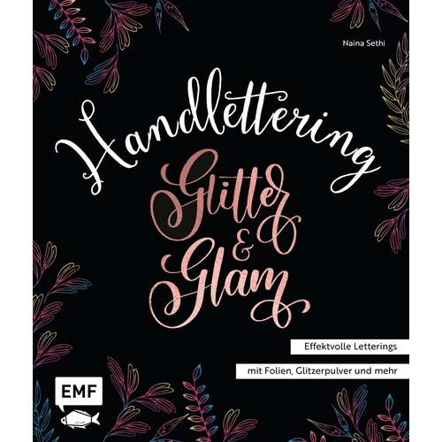 Handlettering Glitter & Glam