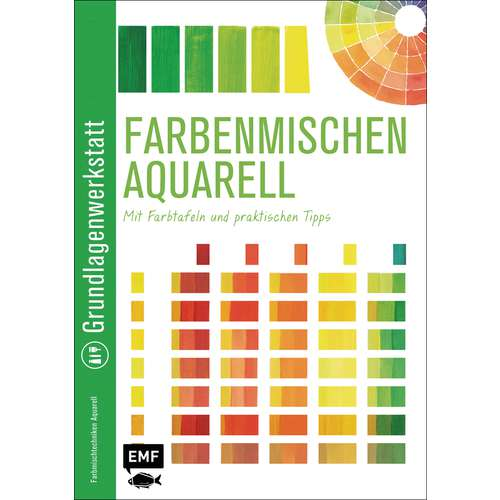 Farbenmischen Aquarell