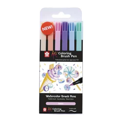 SAKURA® Koi Coloring Brush Pen 6er-Sets