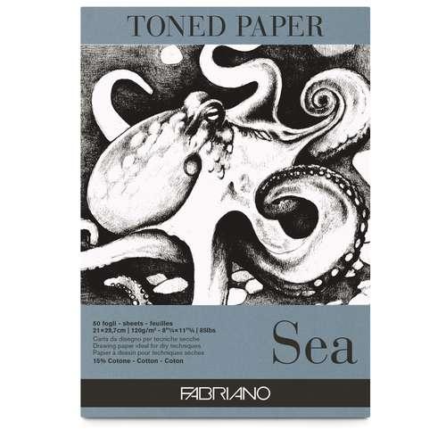 FABRIANO® Toned Paper Zeichenblock, Sea