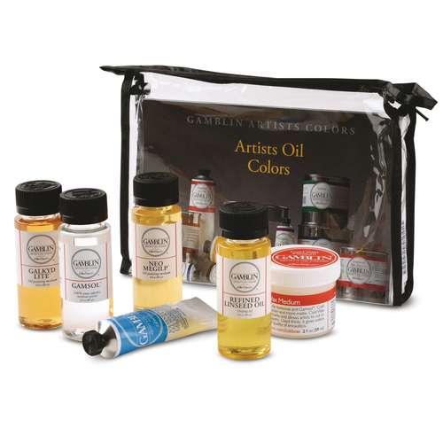 GAMBLIN Öl-Malmedium-Set