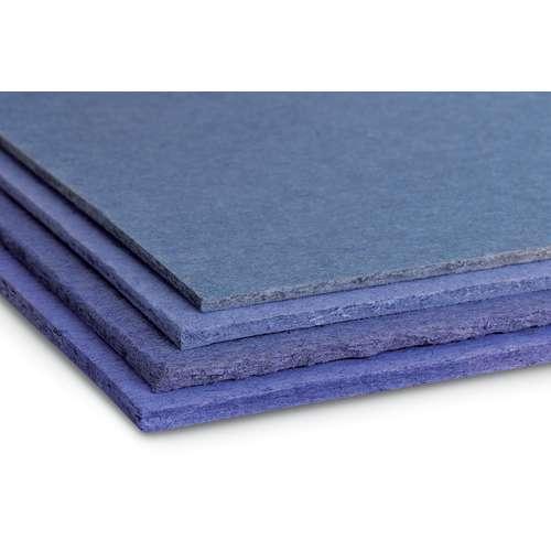 Buchbinderpappe Blau