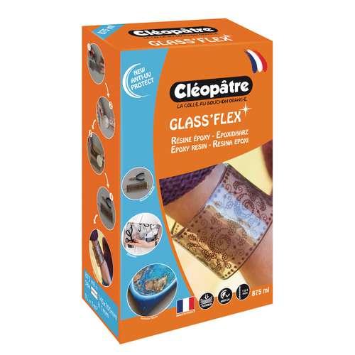 CLÉOPÂTRE Résine Glass 100 Epoxid-Überzugsharz