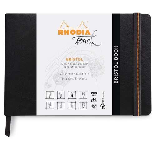 RHODIA TOUCH Bristol book soft
