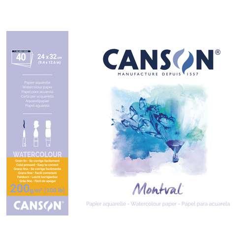 CANSON® Montval® Aquarellkarton, 200 g/qm