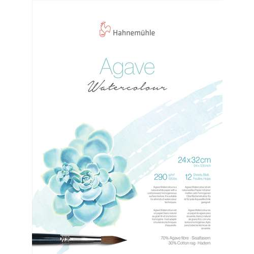 Hahnemühle Agave Watercolour Aquarellpapier