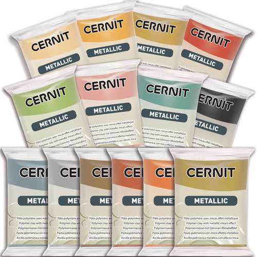 CERNIT® Modelliermasse Metallic