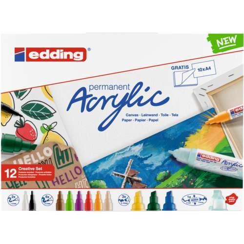 edding® permanent Acrylic Sets