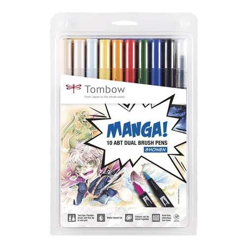 TOMBOW® ABT Dual Brush Pen Manga Set